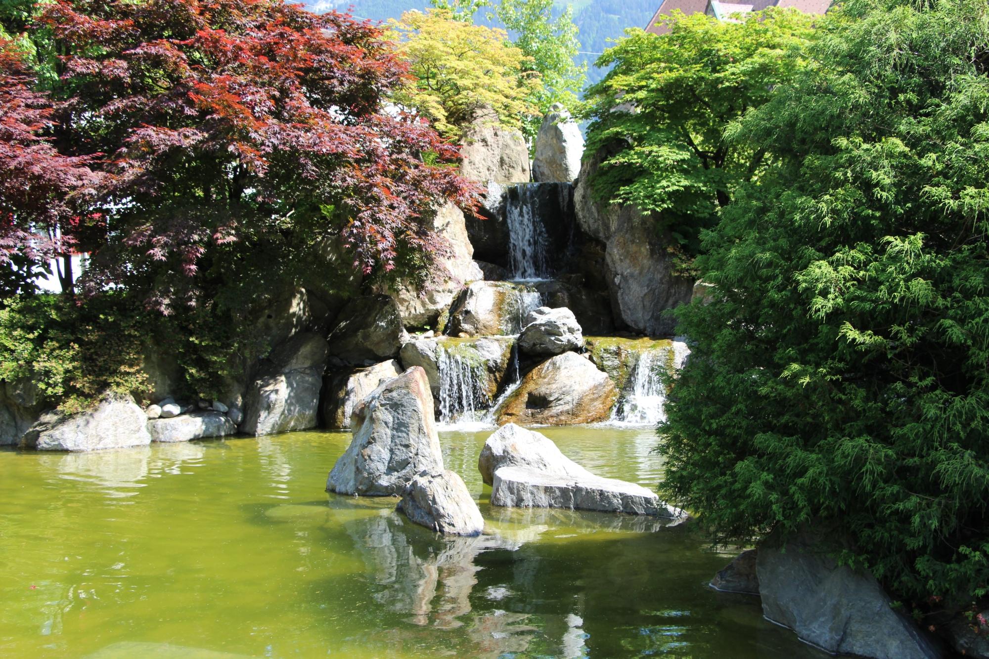 japanischer garten - grünlandstaudenhof, Garten dekoo