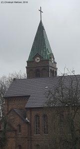Evangelische Kirche an der Kempkenstraße (Gemeinde: Königshardt-Schmachtendorf)