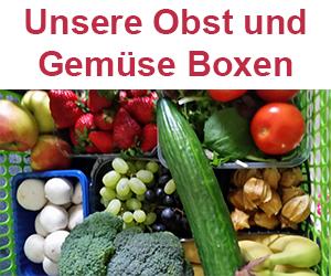 Unsere Obst und Gemüse Boxen