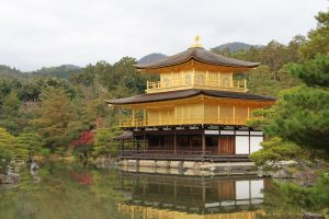 Kinkaku-ji Teichsicht 2